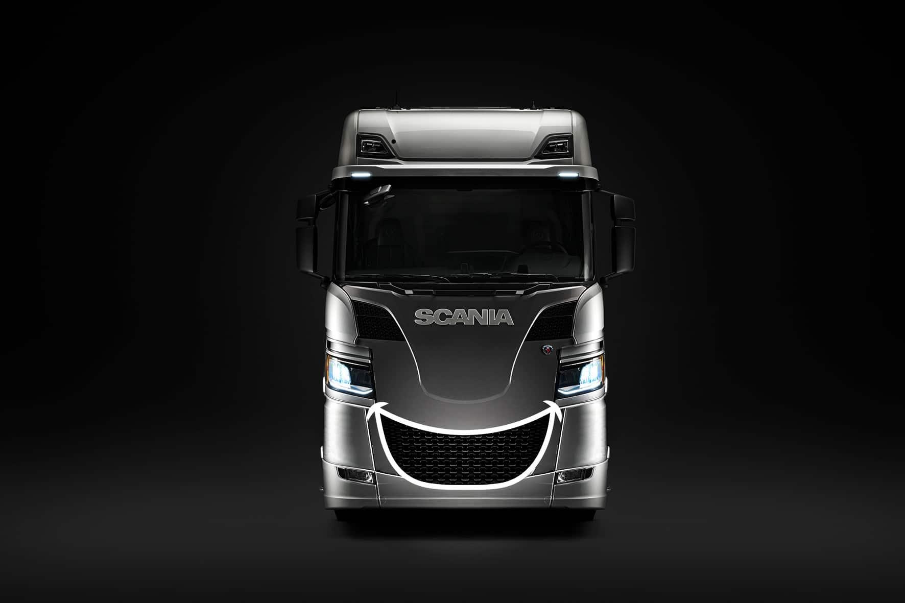 Le camion sourire par Scania