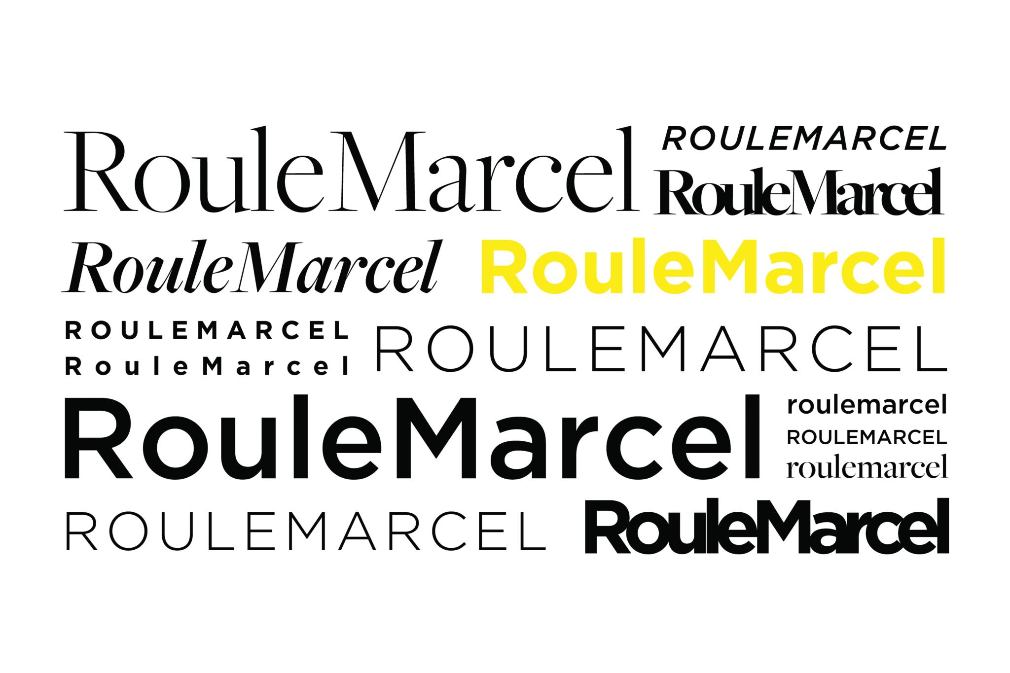 Les différents styles de typographie.