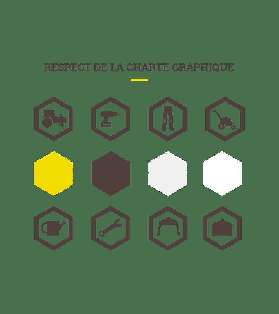 Charte graphique d'Espace Emeraude
