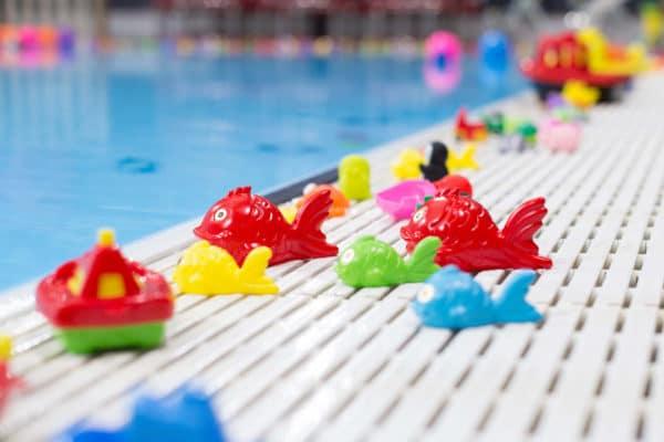 Photo détail closeup du jouets aquatiques
