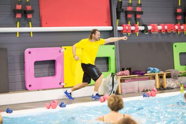 Photo d'un cours d'activité aquatique chez Vital'Eau