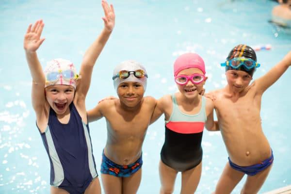 Photo d'un groupe de jeunes nageurs chez Vital'Eau
