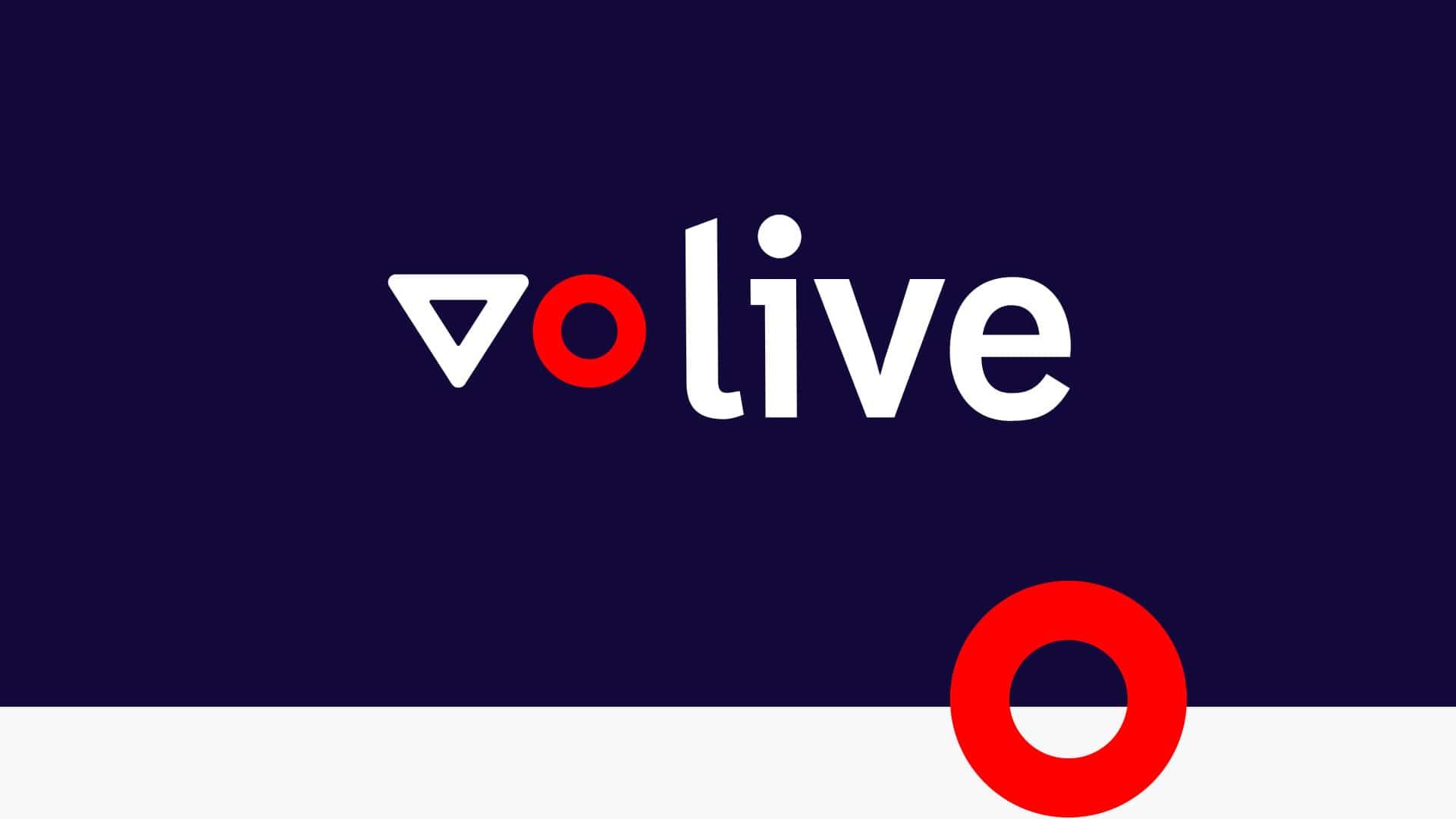 Logo horizontal de VO Live