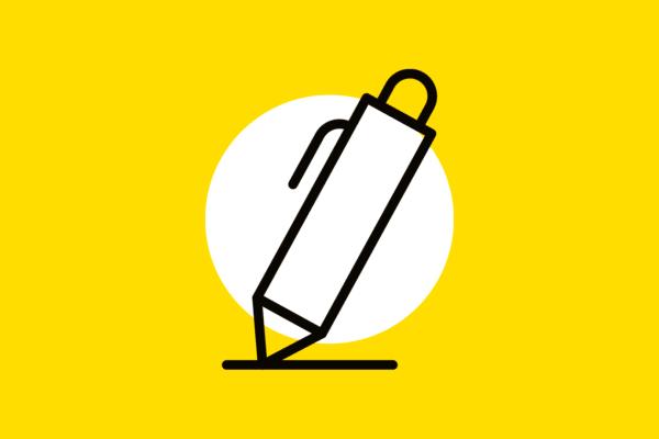 Picto crayon personnel