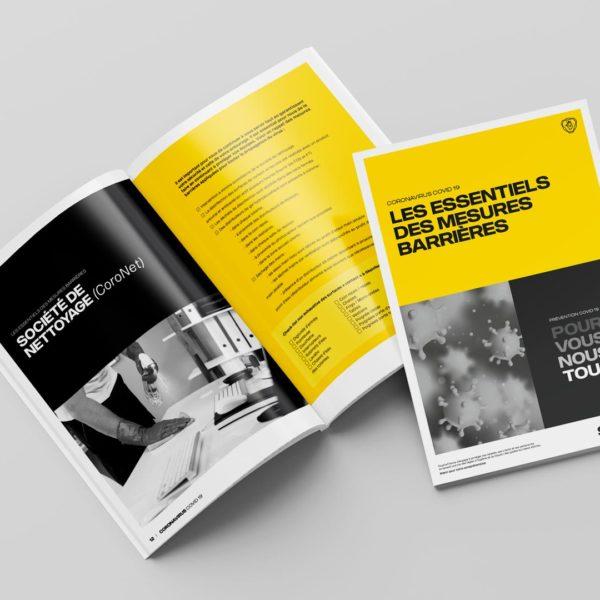 Brochure Scania France pour faire face au COVID 19