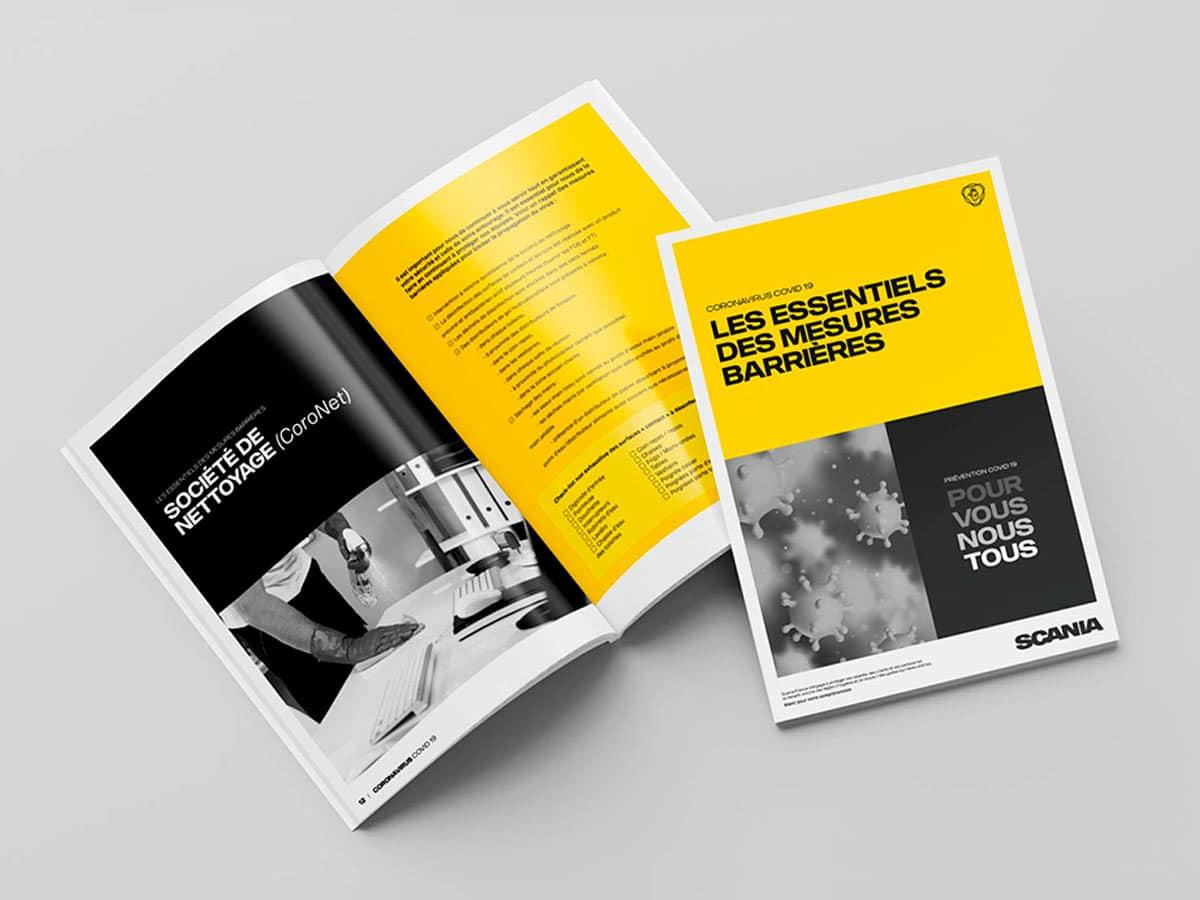 Scania France - Projet COVID 19 - Brochure