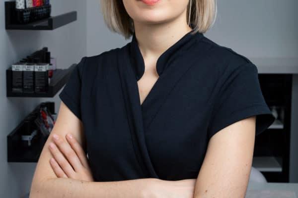 Portrait d'un salarié de l'équipe de l'institut Douceur