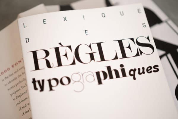 Les règles typographiques