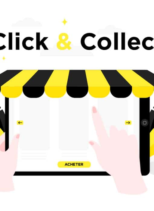 La présentation du Click & Collect