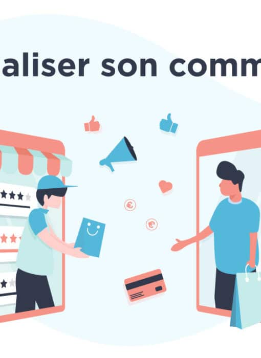 Illustration digitaliser son commerce