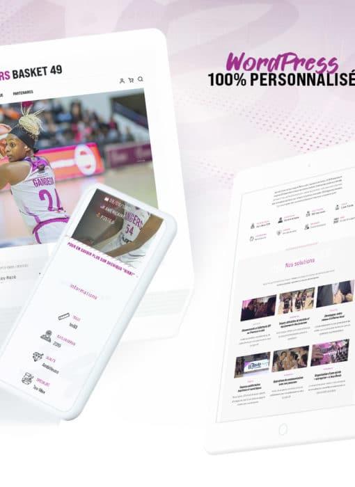 Création du site internet de l'UFAB49